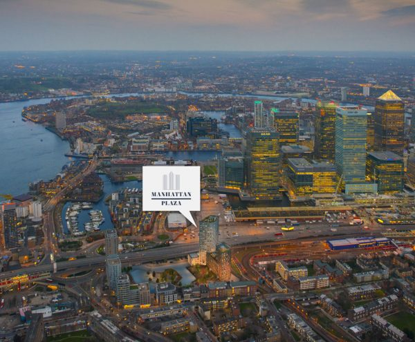 Manhattan Plaza is located within 5 minutes from Canary Wharf, which is a centre for global finance. With the opening of the new the